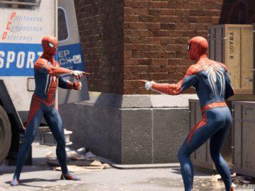 PlayStation два спайдермена