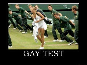 Гей тест - не пройден