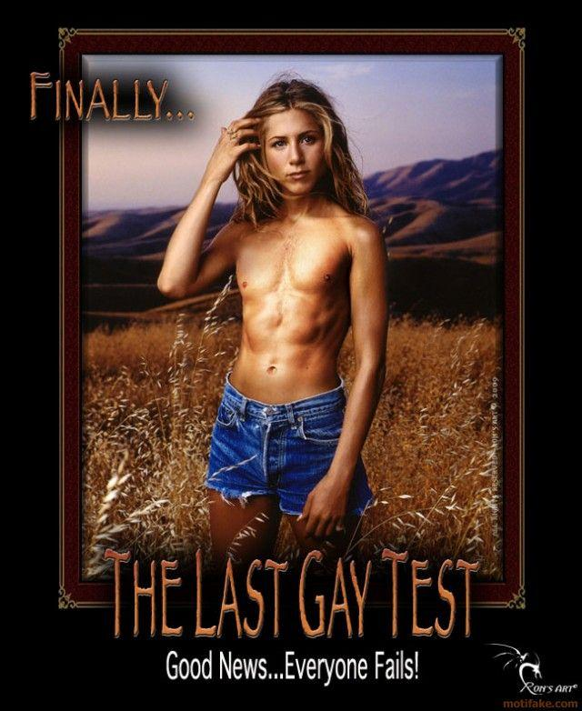 Гей тест - все проиграли