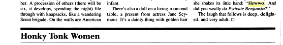 Hewwo - Vanity Fair Excerpt