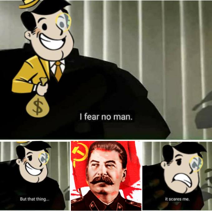 I Fear No Man - Stalin