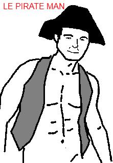 Le Pirate Man