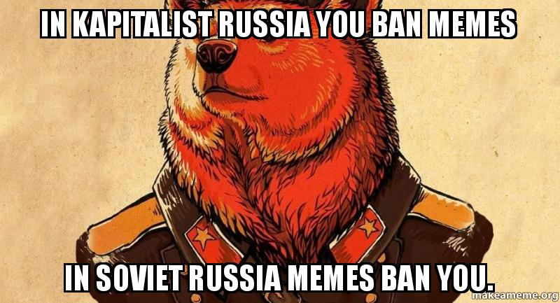 Мемы банят тебя