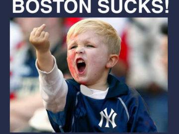 Майки Уилсон Boston Sucks