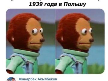 Мем игрушечная обезьяна