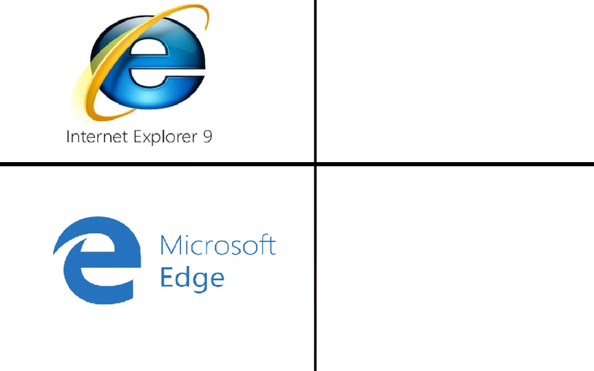 Internet Explorer vs. Microsoft Edge