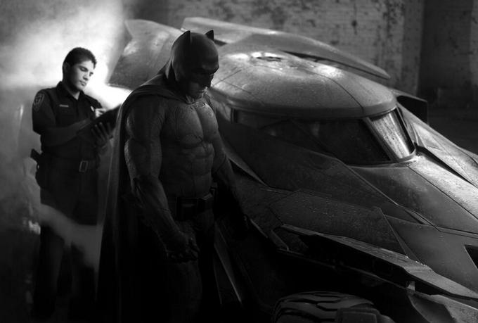 Грустный Бэтмен получает штраф