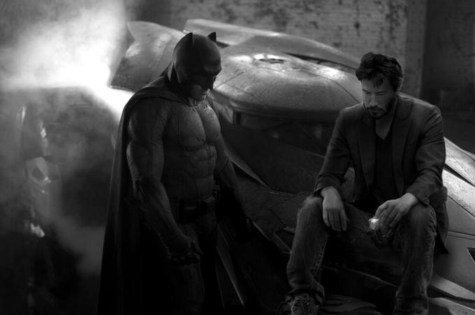 Грустный Бэтмен и Киану