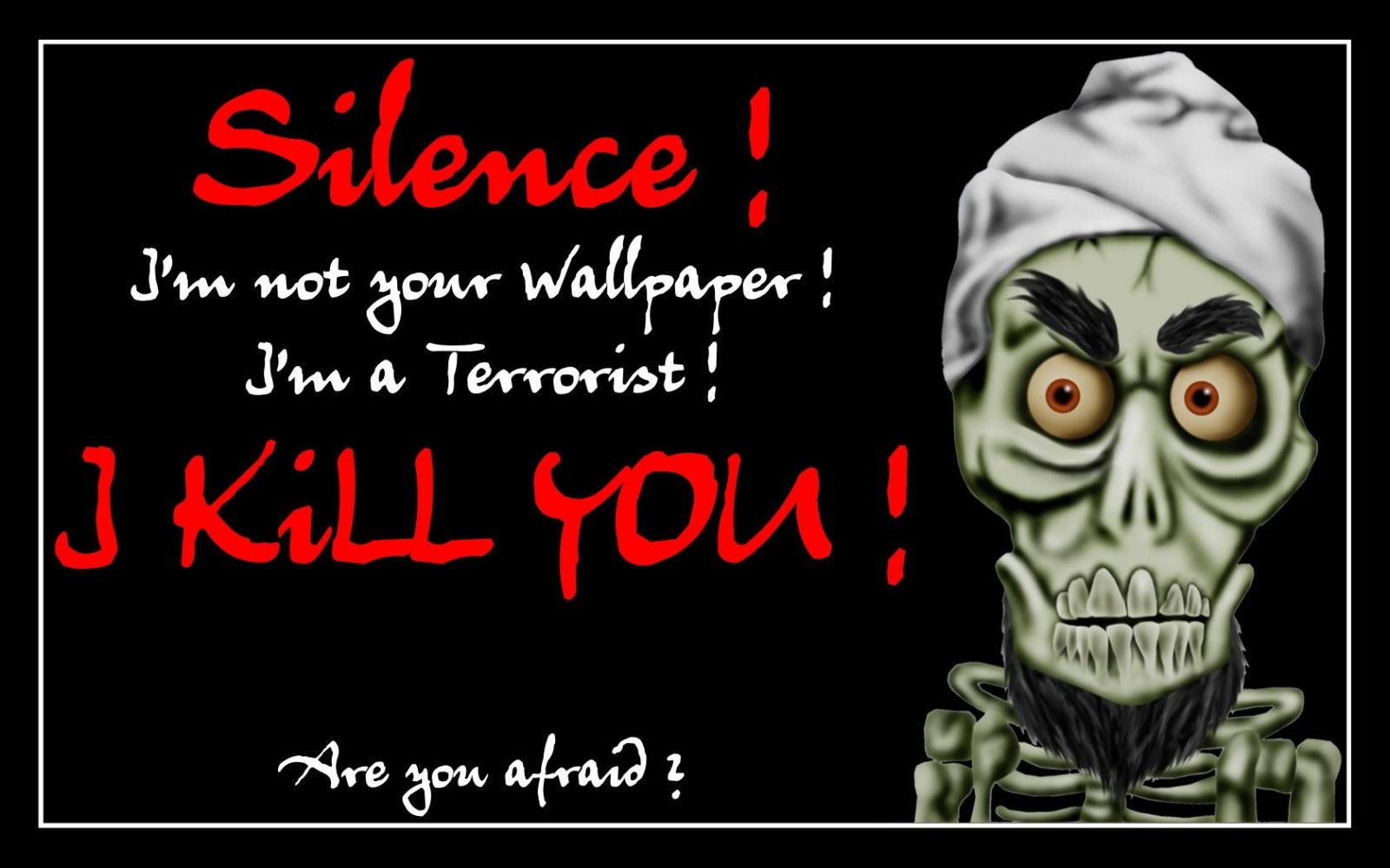 Ахмед Мертвый террорист