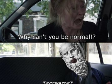 Why Can't You Just Be Normal - Диоген