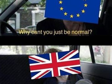 Why Can't You Just Be Normal - Brexit