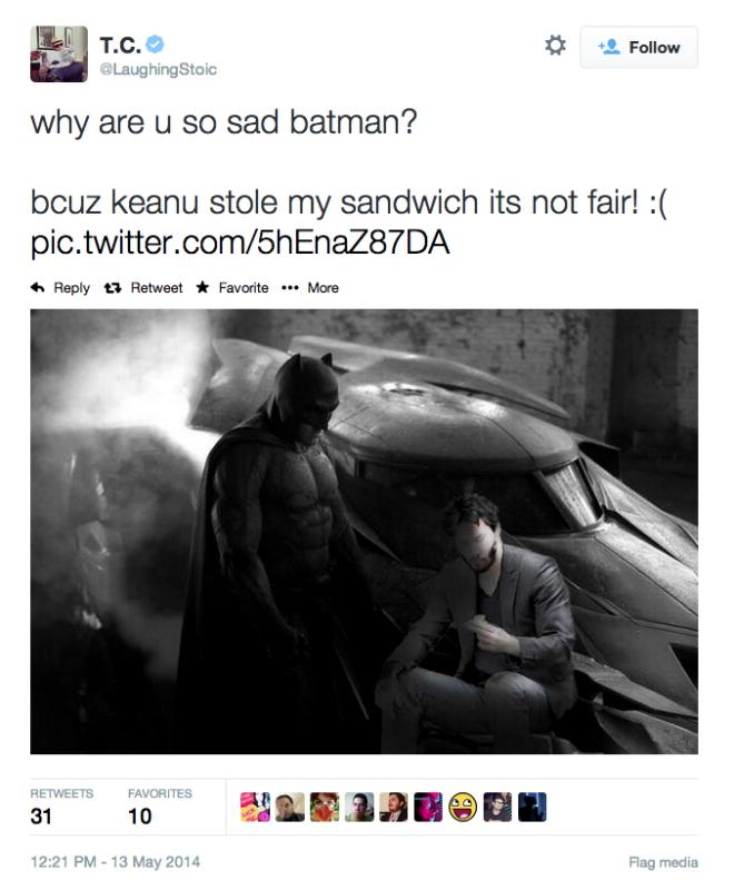 Why u so sad batman