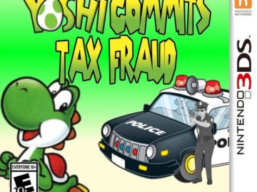 Yoshi Committed Tax Fraud - Игра на 3DS