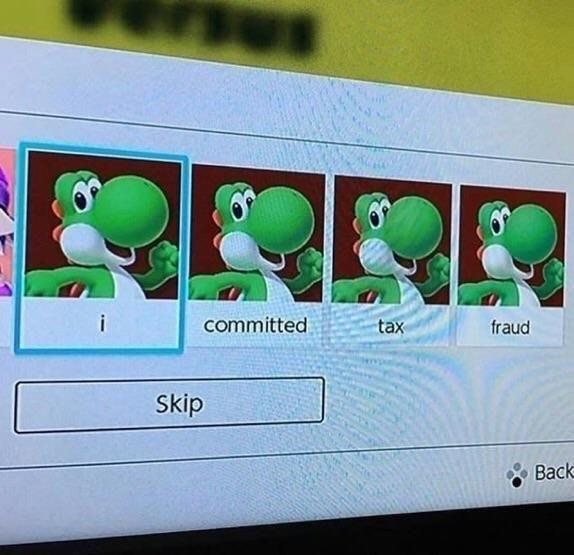Yoshi Committed Tax Fraud - Solid Praxis