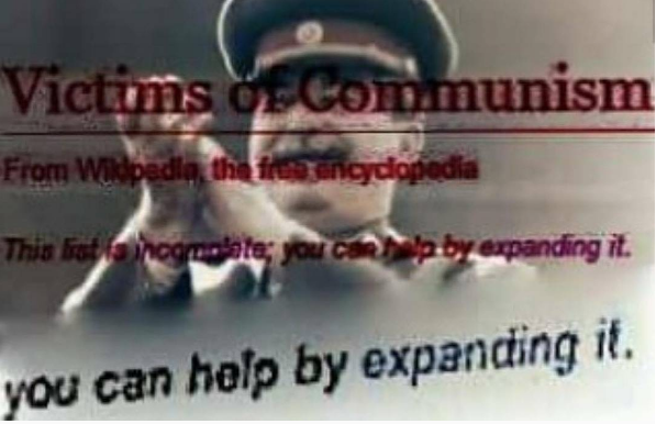 You Can Help By Expanding It - Жертвы коммунизма