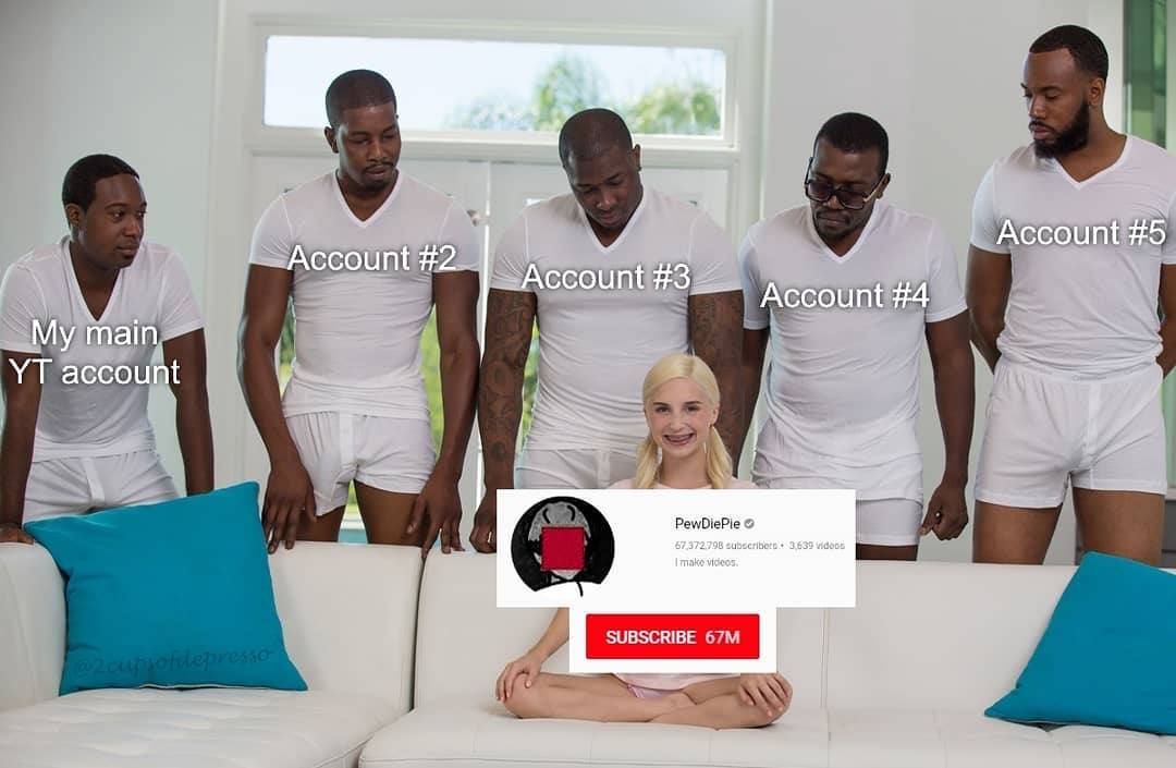 PewDiePie против T-Series