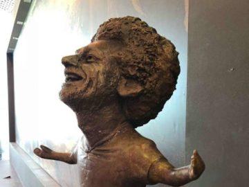 скульптура Мохаммеда Салаха