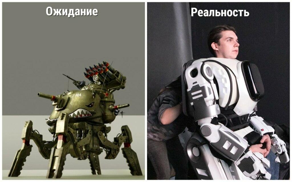 """""""Россия 24"""" выдала человека в костюме за робота Бориса. Канал назвал возмущение в сети """"шумом из ничего"""""""