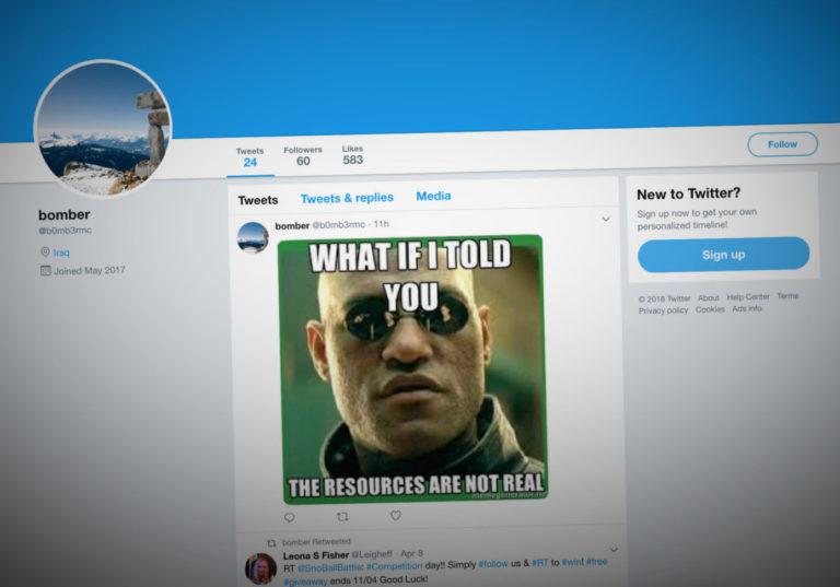 Мемы из твиттера могут быть опасны из-за вирусов