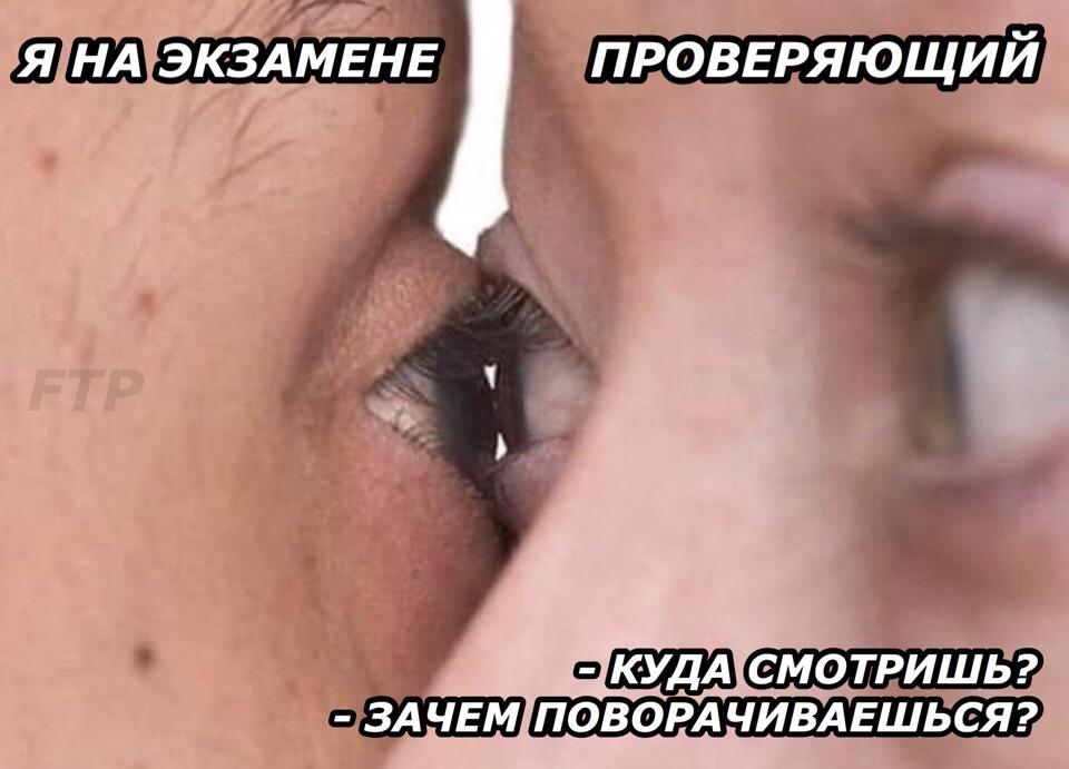 Глаз в глаз