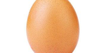 Яйцо стало самой популярной фотографией в Instagram