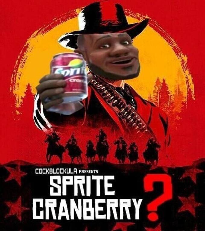Wanna Sprite Cranberry?