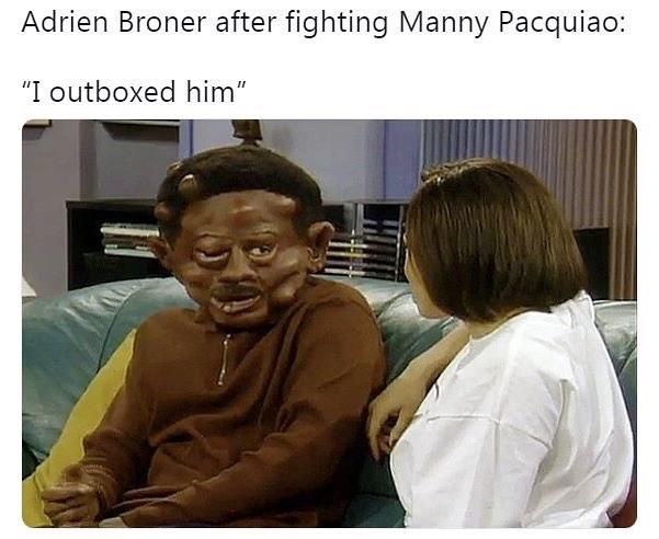 Broner meme