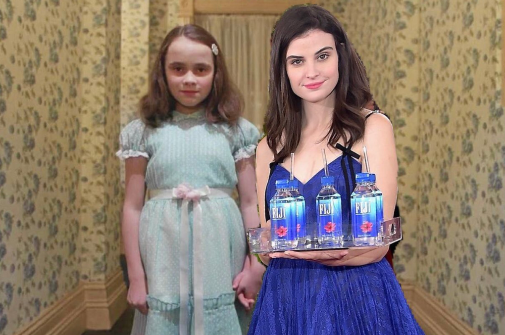 Fiji Water Girl Meme