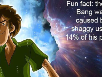powerfull shaggy meme