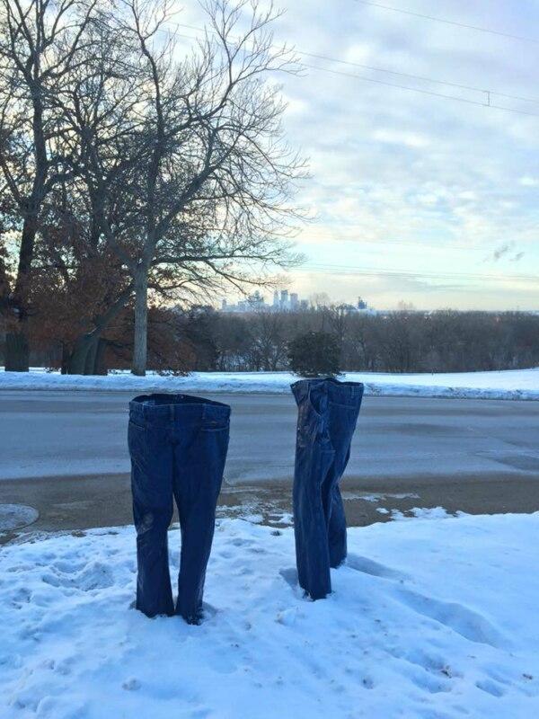 аномальные морозы в США