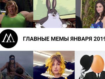 главные мемы января 2019