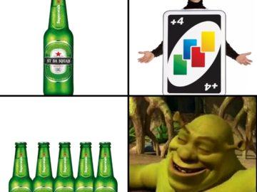 Мемы из игры Уно