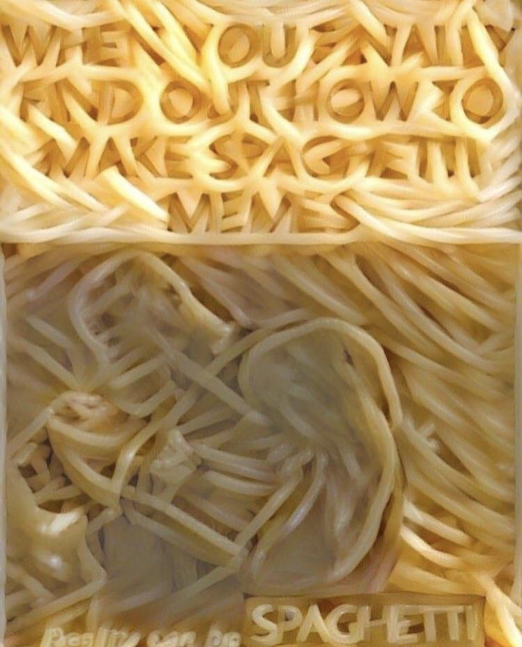 мемы из спагетти