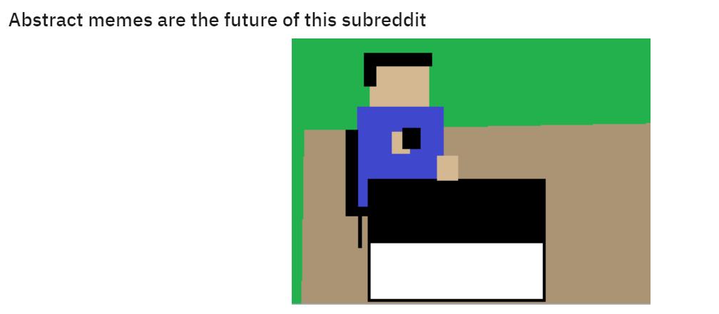 Abstract memes Reddit