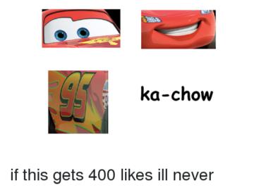 ka-chow meme