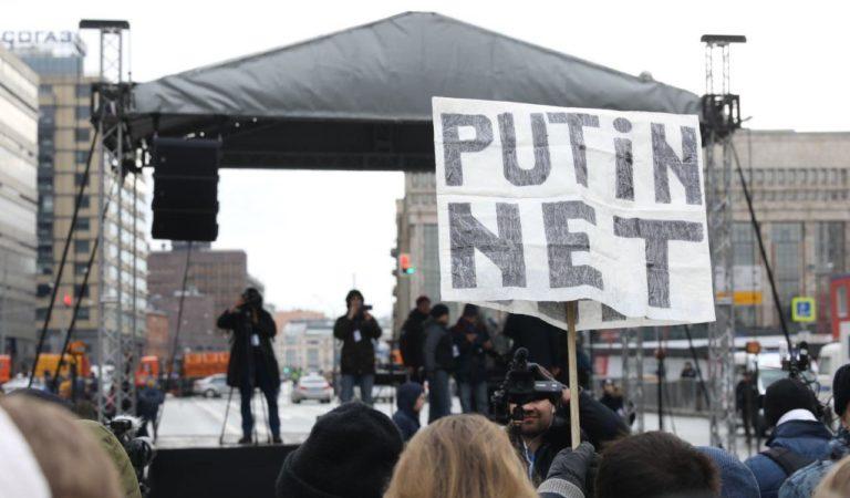 Как прошел московский митинг за свободу интернета