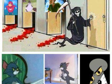 Смерть стучится в двери мем