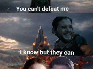 Ты не сможешь победить меня
