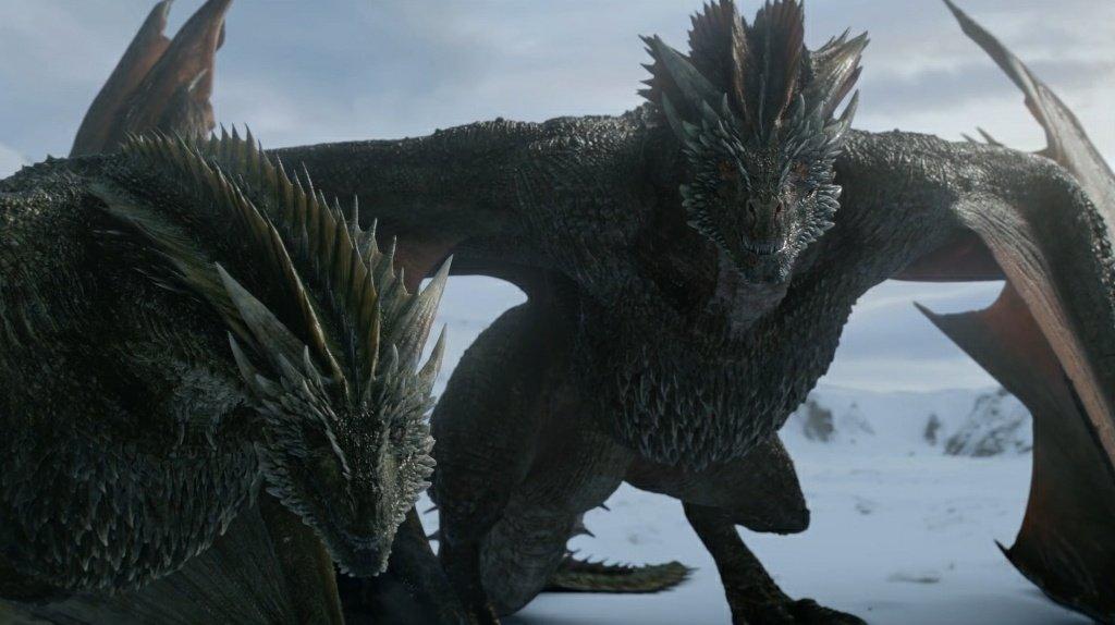 Джон Сноу и дракон