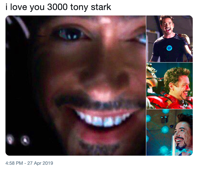 I love you 3000 meme