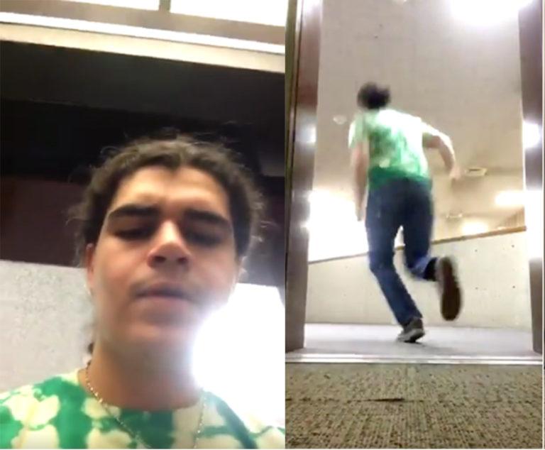 "Elevator ""Woah"" Challenge"