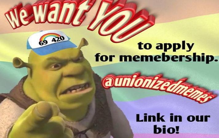 В инстаграме появился первый профсоюз создателей мемов