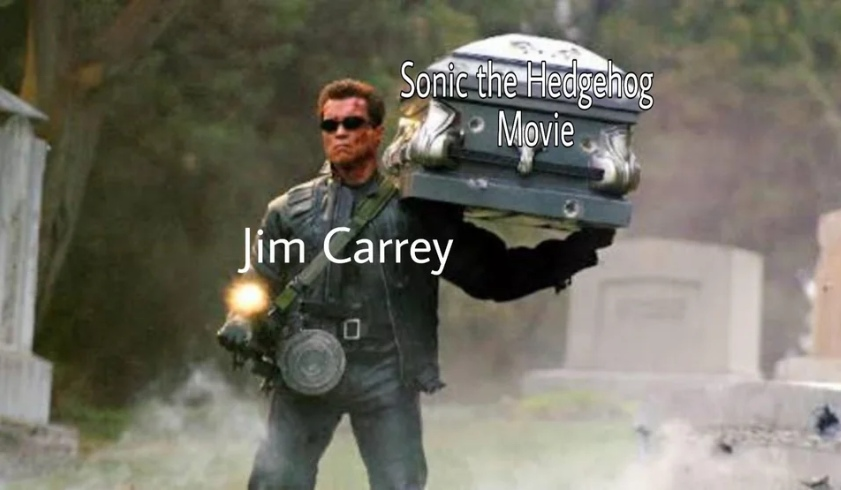 Соник в кино мемы