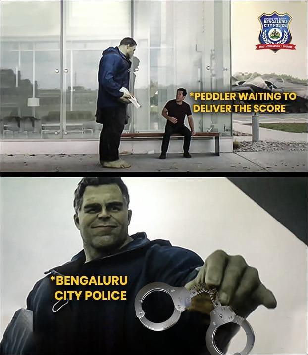 Инстаграм полиции в Индии