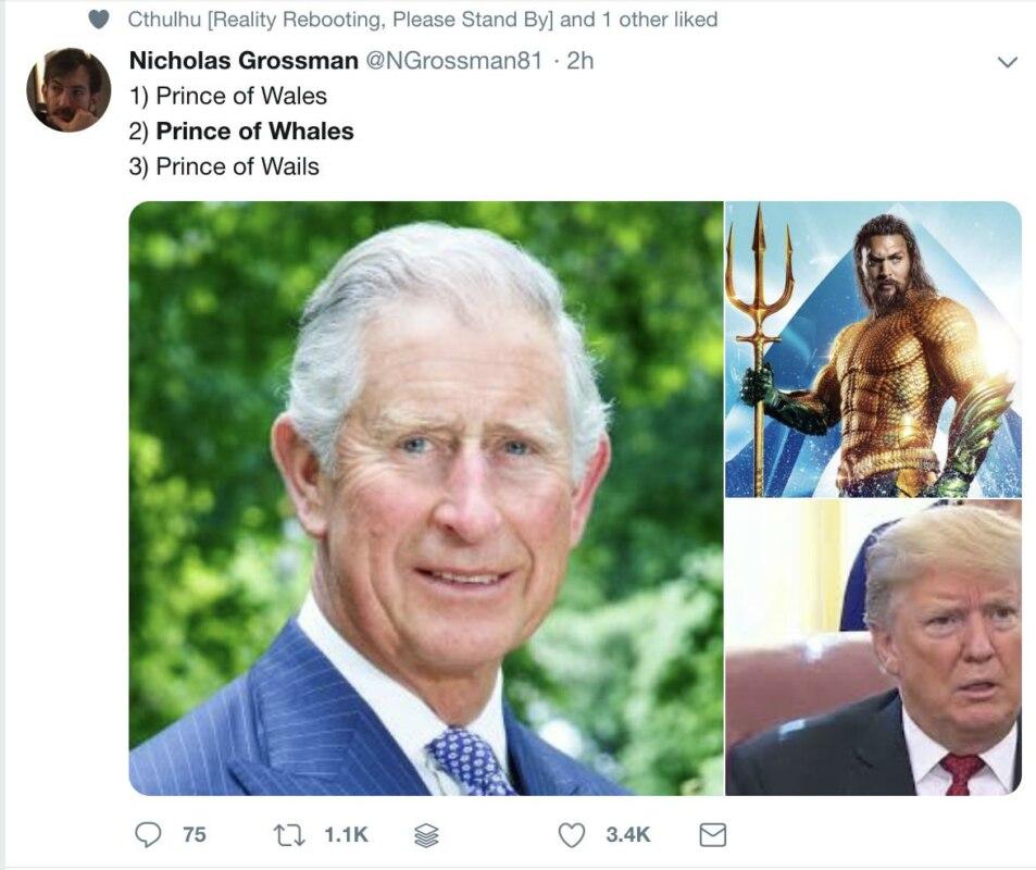 """Трамп встретился с """"принцем китов"""" и попал в мемы"""