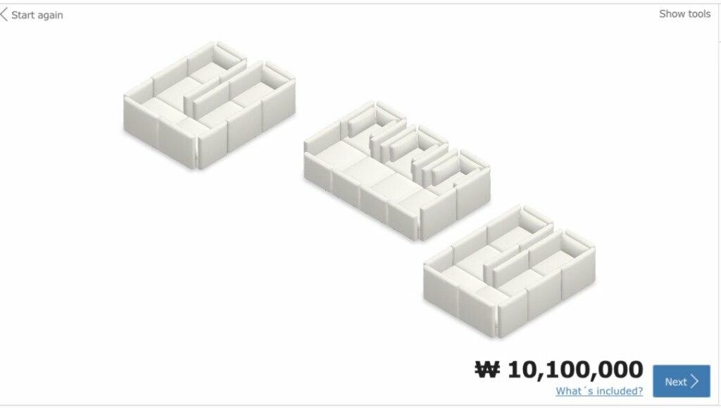 Безумные диваны Ikea