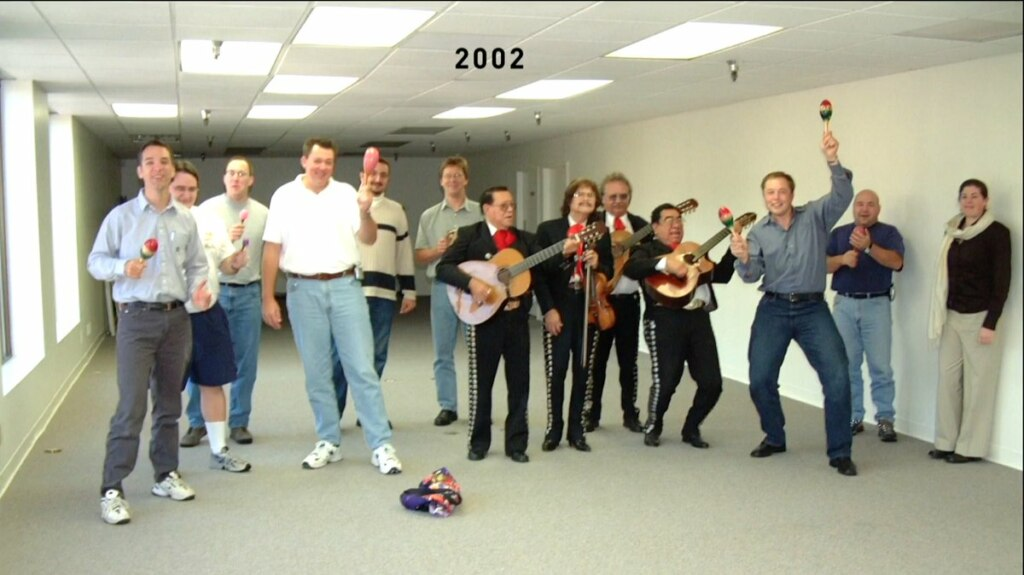 Dancing Elon Musk 2002
