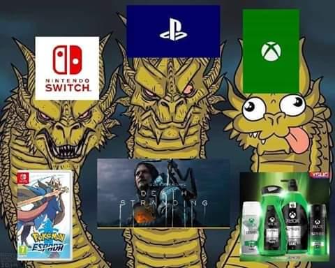 King Ghidora meme