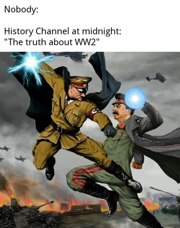 history channel at night