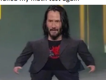 Mini Keanu Reeves